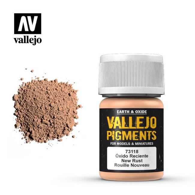 AV Vallejo Pigments - New Rust
