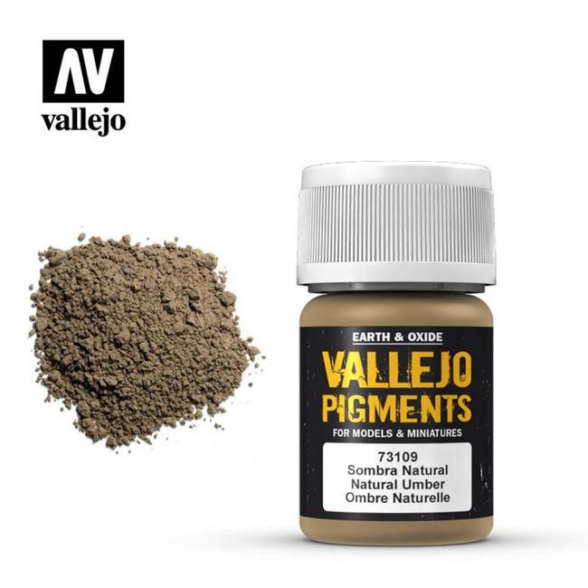 AV Vallejo Pigments - Natural Umber