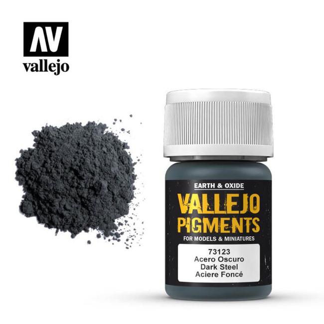 AV Vallejo Pigments - Dark Steel