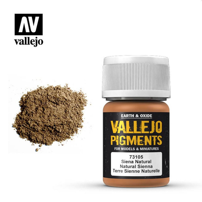 AV Vallejo Pigments - Natural Sienna