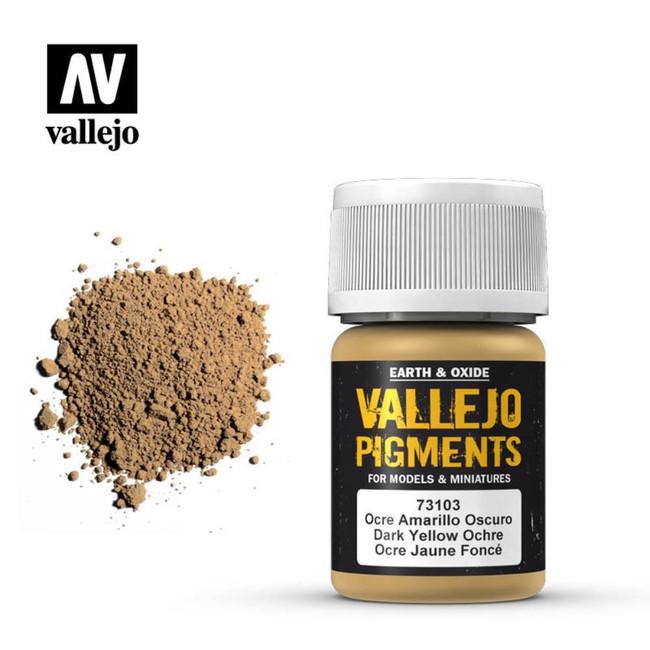 AV Vallejo Pigments - Dark Yellow Ocre