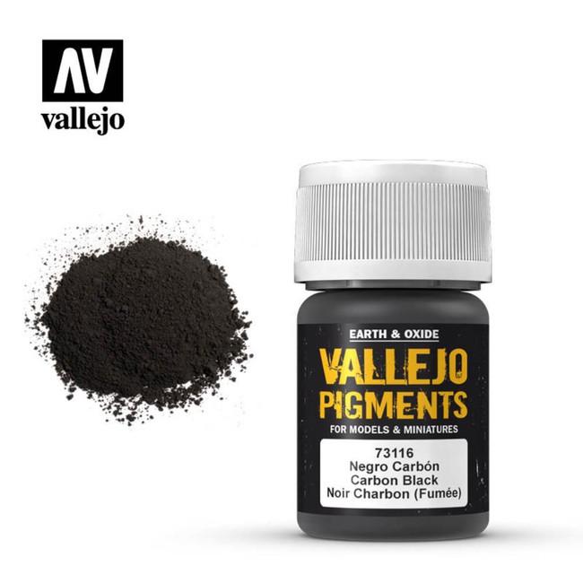 AV Vallejo Pigments - Carbon Black
