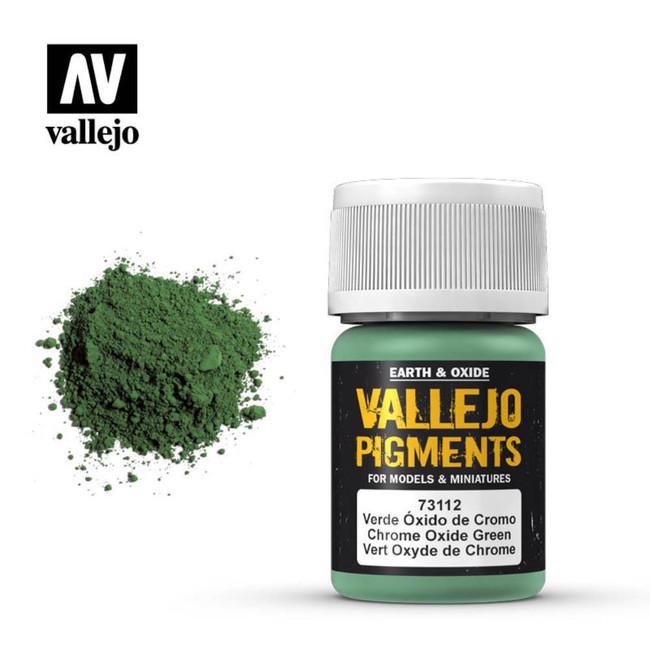AV Vallejo Pigments - Chrome Oxide Green