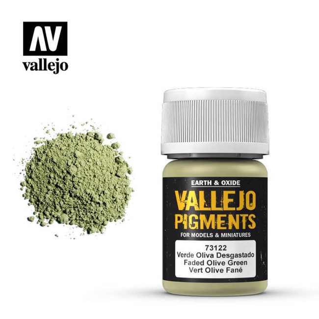 AV Vallejo Pigments - Faded Olive Green