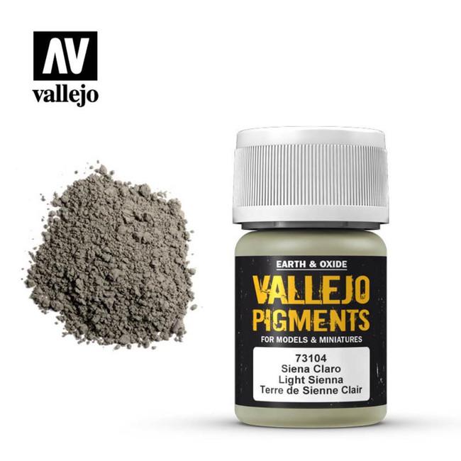 AV Vallejo Pigments - Light Sienna