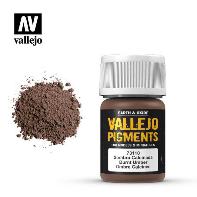 AV Vallejo Pigments - Burnt Umber