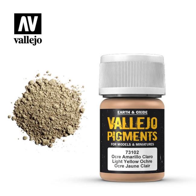 AV Vallejo Pigments - Light Yellow Ocre