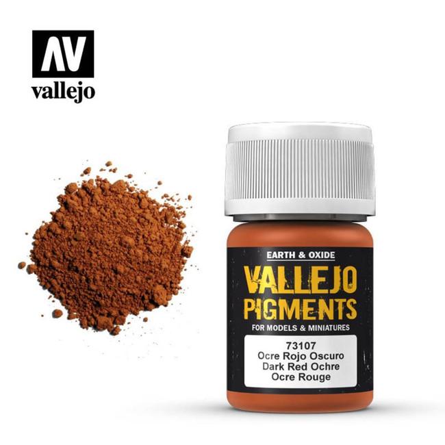 AV Vallejo Pigments - Dark Red Ocre