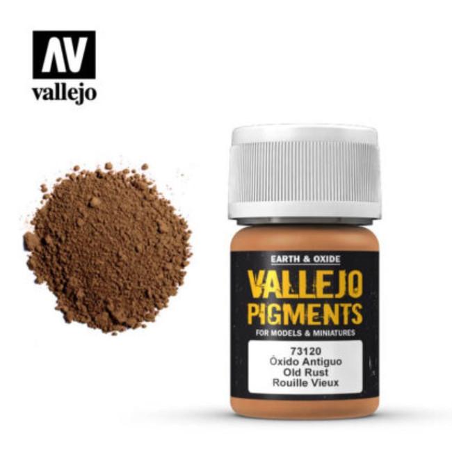 AV Vallejo Pigments - Old Rust