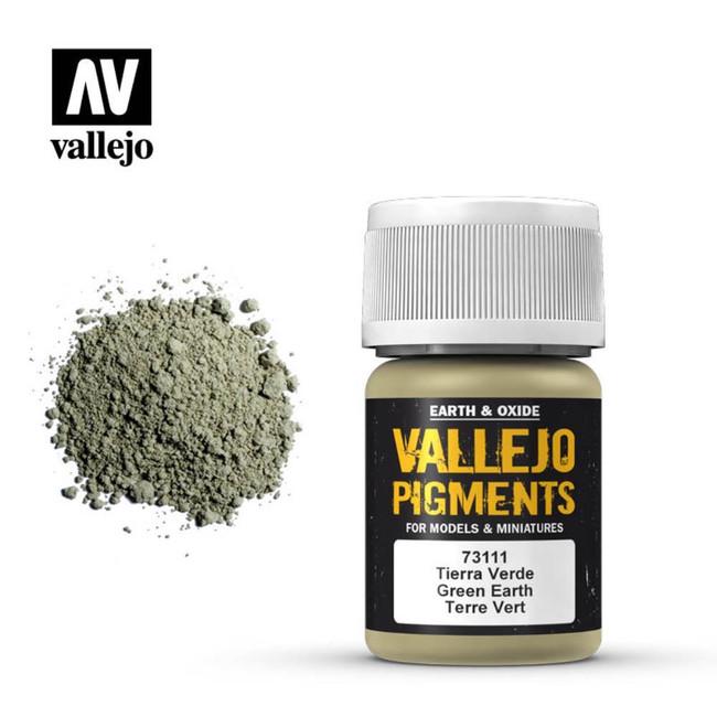 AV Vallejo Pigments - Green Earth
