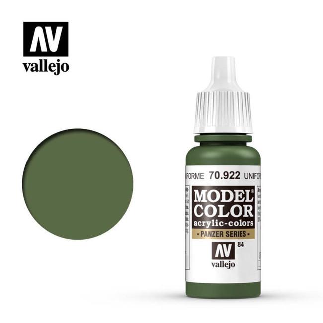 AV Vallejo Model Color 17ml - Uniform Green