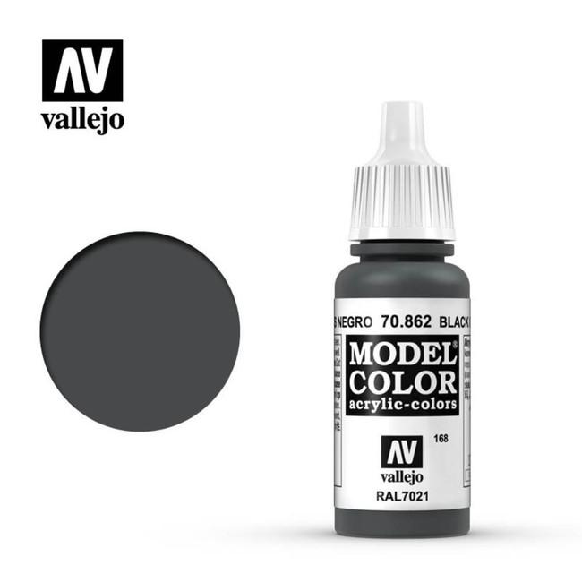 AV Vallejo Model Color 17ml - Black Grey