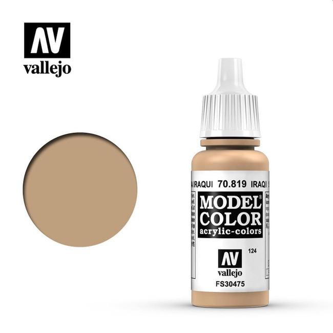 AV Vallejo Model Color 17ml - Iraqi Sand
