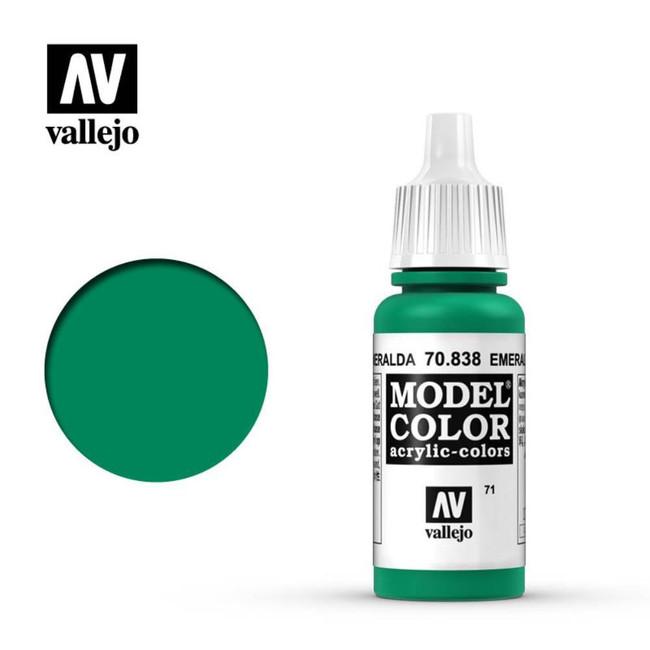 AV Vallejo Model Color 17ml - Emerald