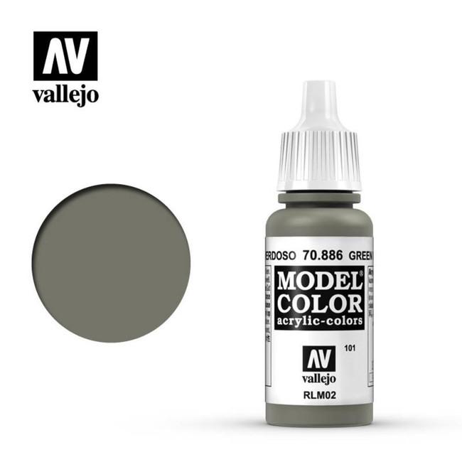AV Vallejo Model Color 17ml - Green Grey, 70.886