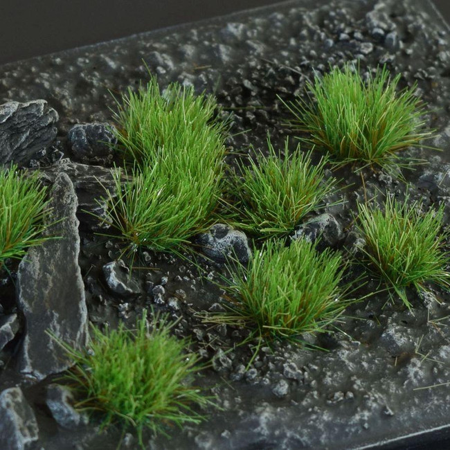 Strong Green 6mm Tufts, Wild