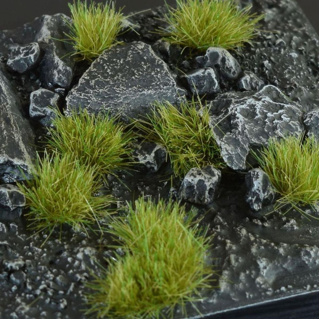 Dry Green 6mm Tufts, Wild