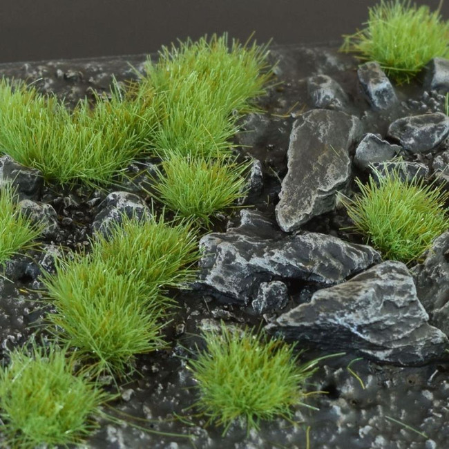 Green 4mm Tufts, Small