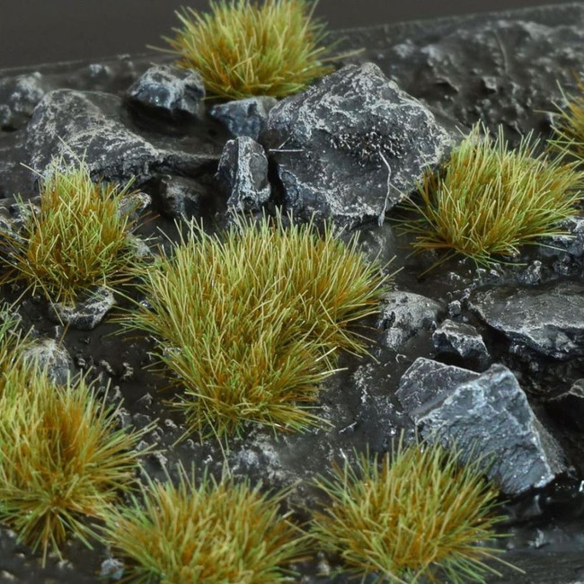 Mixed Green 6mm Tufts, Small