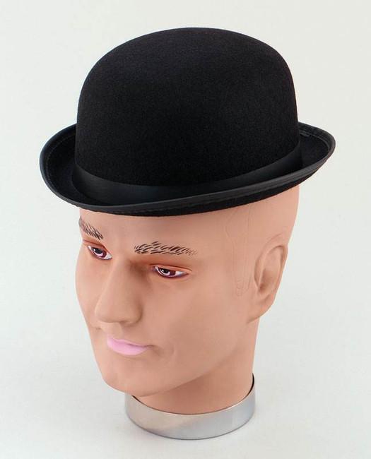 Bowler - Black Helt Hat. Small.
