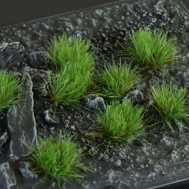 Strong Green 6mm Tufts, Small