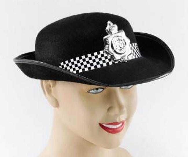 WPC Felt Hat Black, Police
