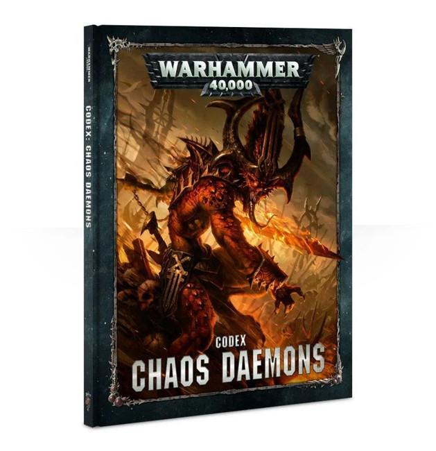 Codex: Chaos Daemons (Hardback) (English), Warhammer 40,000, Age of Sigmar