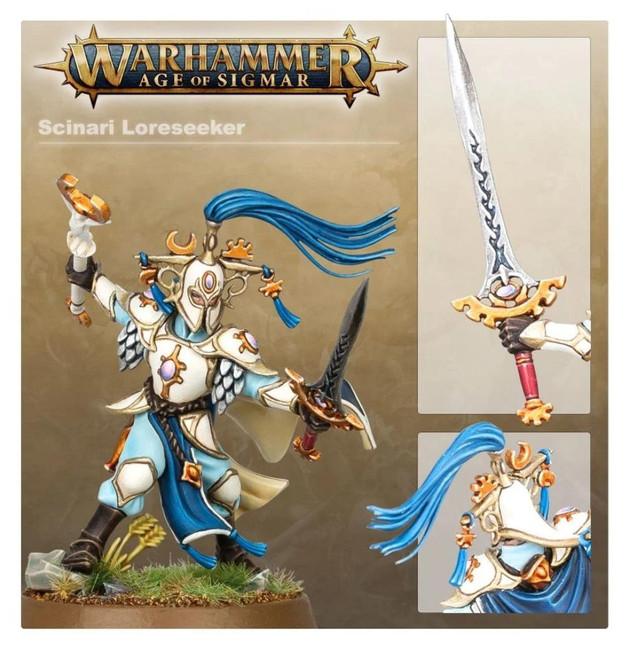 Lumineth Realm-Lords: Scinari Loreseeker