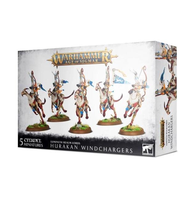Lumineth Realm Lords: Hurakan Windchargers
