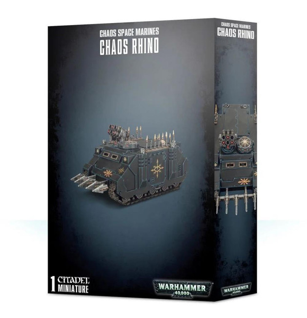 Chaos Space Marines Rhino, Warhammer 40,000, 40k, Games Workshop