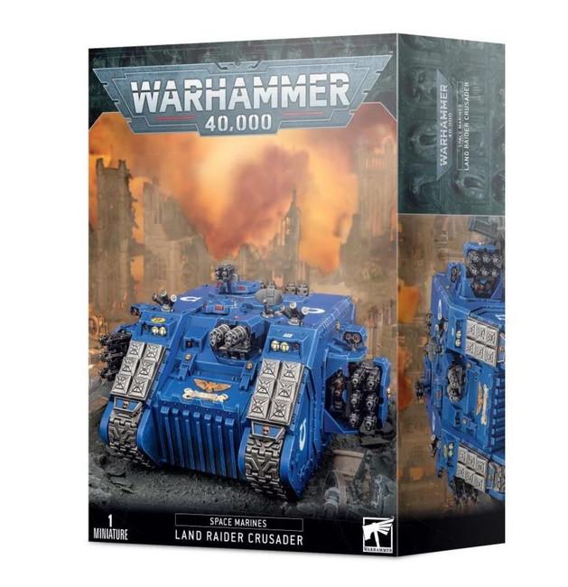 Space Marinesarine Land Raider Crusader/Redeemer, Warhammer 40,000, 40k