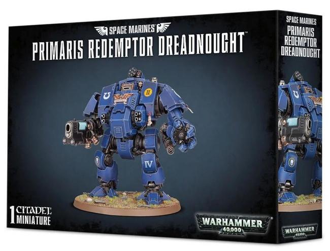 Space Marines Primaris Redemptor Dreadnought, Warhammer 40,000, 40k