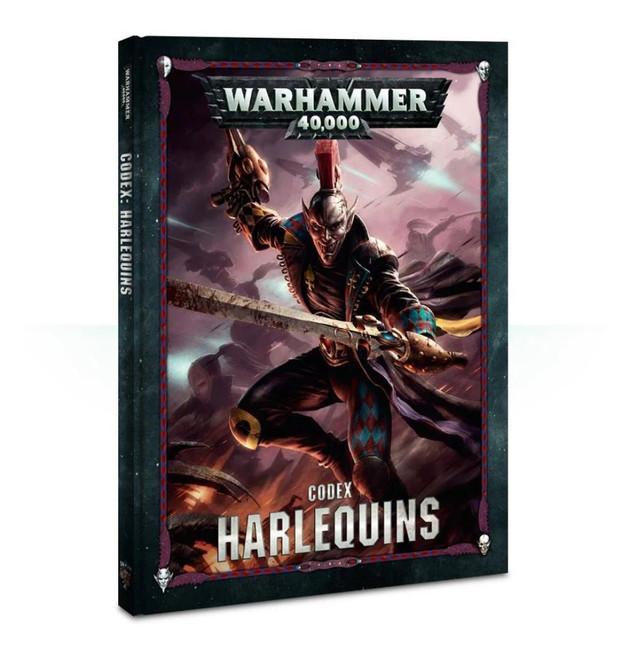 Codex: Harlequins (Hardback) (English), Warhammer 40,000, 40k