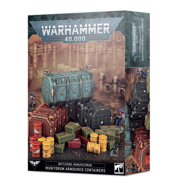 Munitorium Armoured Containers, Warhammer 40,000, 40k, Games Workshop