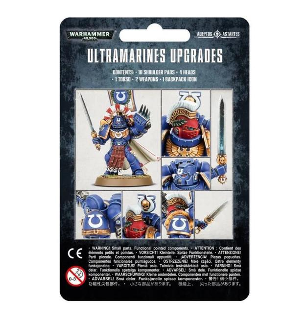 Ultramarines: Upgrades, Warhammer 40,000