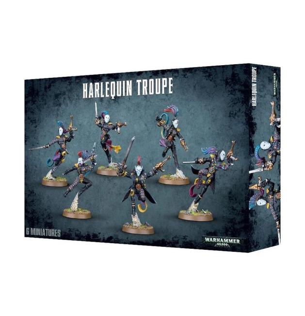 Harlequin Troupe, Warhammer 40,000, 40k, Games Workshop