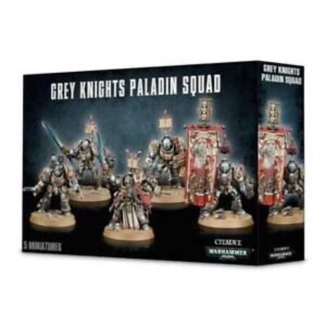 Grey Knights Paladin Squad, Warhammer 40,000, 40k, Games Workshop