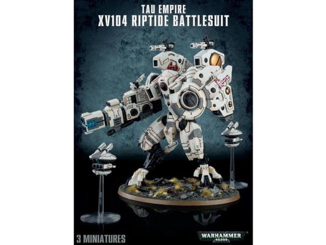 T'au Empire XV104 Riptide Battlesuit, Warhammer 40,000, 40k, Games Workshop