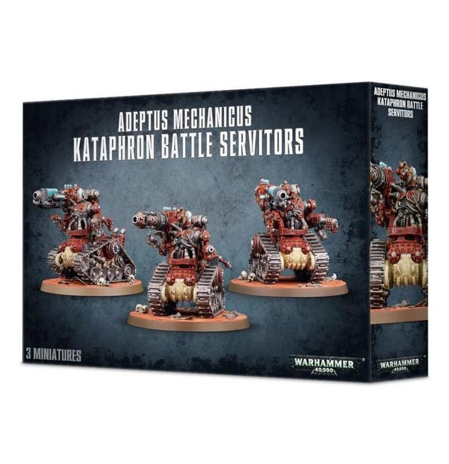 Adeptus Mech. Kataphron Battle Servitors, Warhammer 40,000, 40k