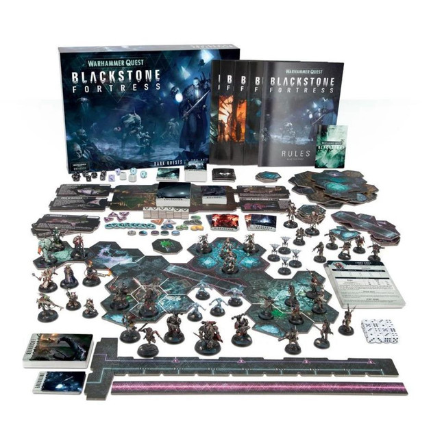 Warhammer Quest: Blackstone Fortress Eng, Warhammer Quest, Games Workshop