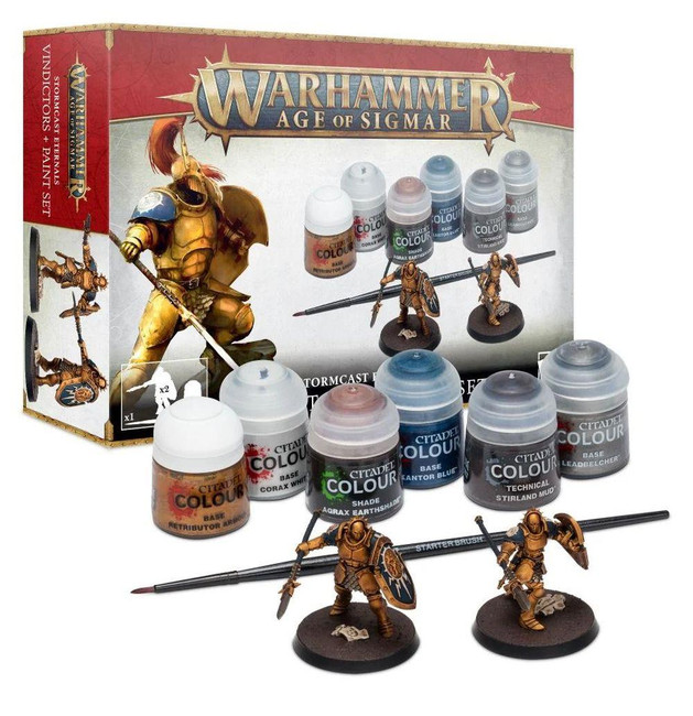 Age of Sgmar: Stormcast Eternals Paint Set