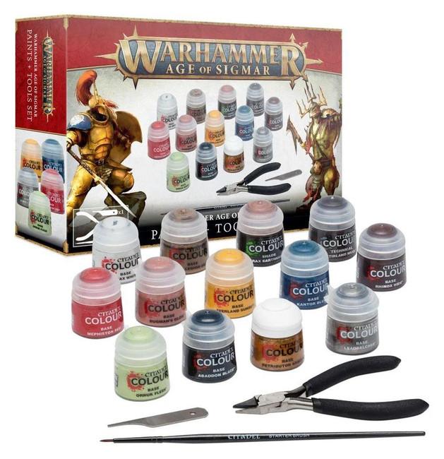 Age of Sgmar: Paints & Tools Set