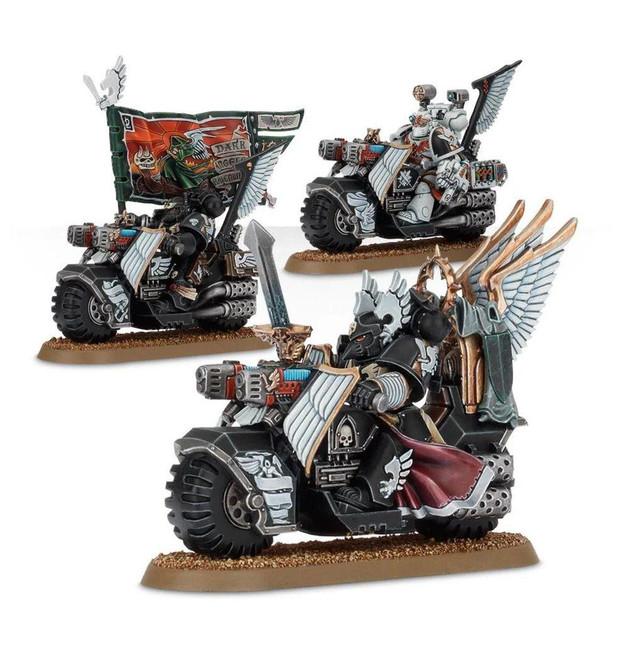 Dark Angels: Ravenwing Command Squad