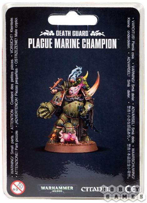 Death Guard: Plague Marine Champion