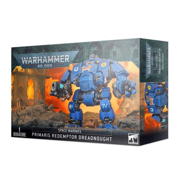 Space Marines: Primaris Redemptor Dreadnought