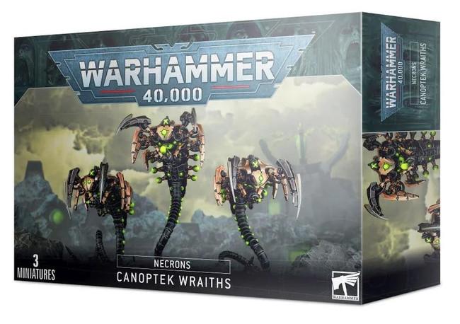 Necrons: Canoptek Wraiths