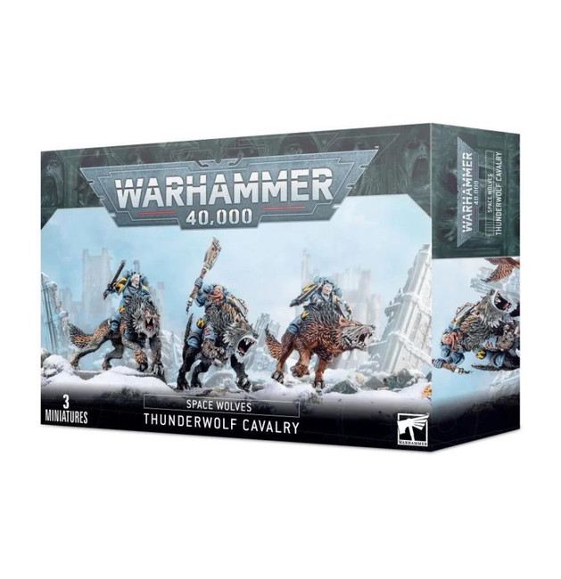 Space Wolves: Thunderwolf Cavalry