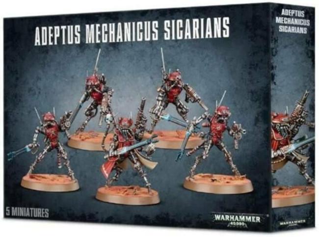 Adeptus Mechanicus: Sicarians