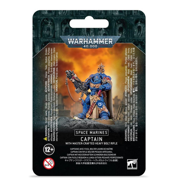 Space Marines: Captain With Master-Crafted Bolt Rifle