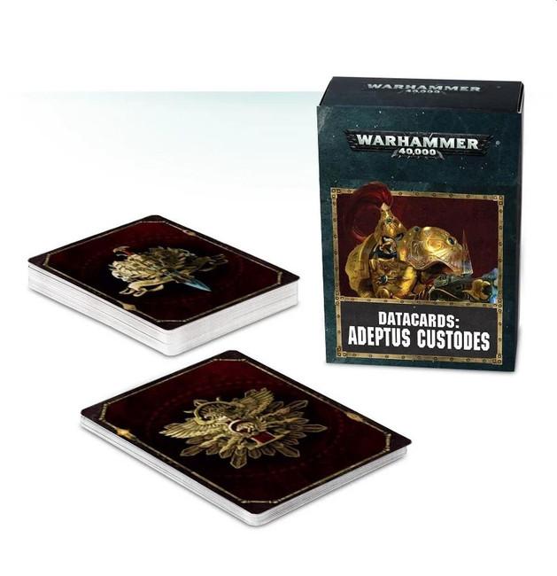 Datacards: Adeptus Custodes (English), Warhammer 40,000